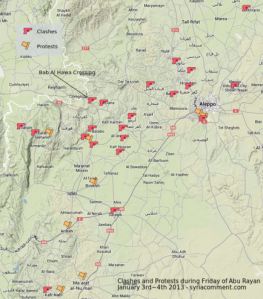 Trefninger og demonstrasjoner mot ISIS 03.01.14