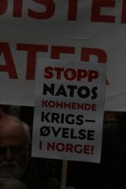 Fra 1. mai-toget i Oslo. Foto: GGAADD